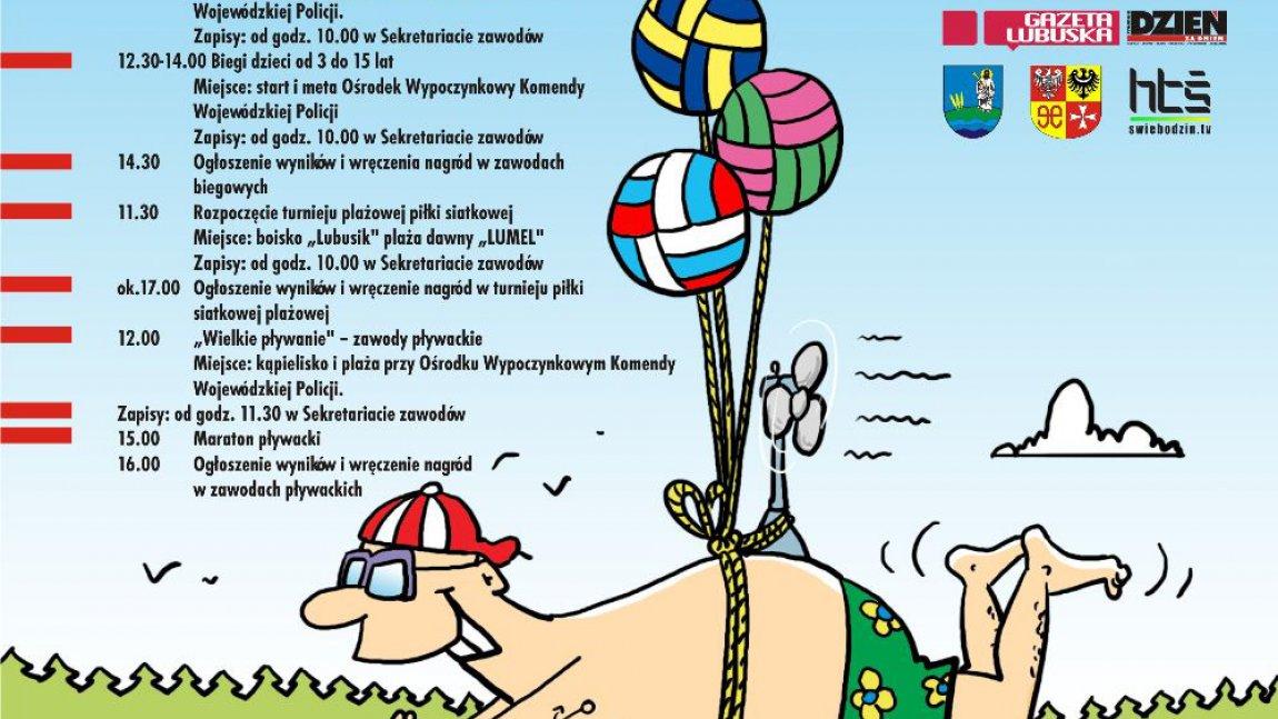 Wielkie Pływanie i Bieganie - Niesulice 06.07.2013r.