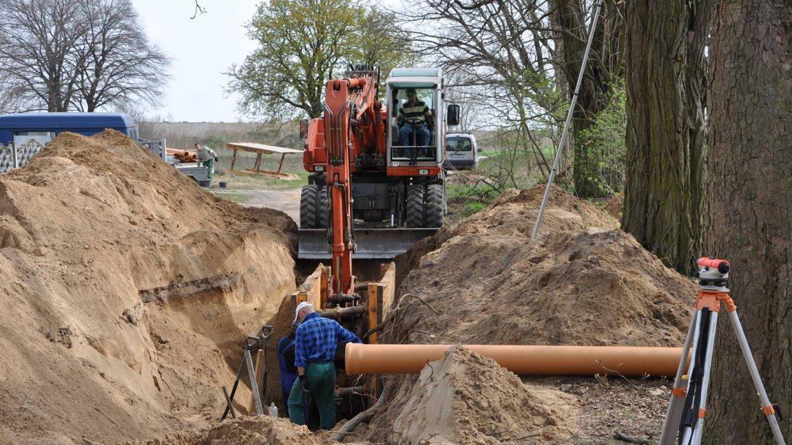 Kanalizacja oddana do użytku