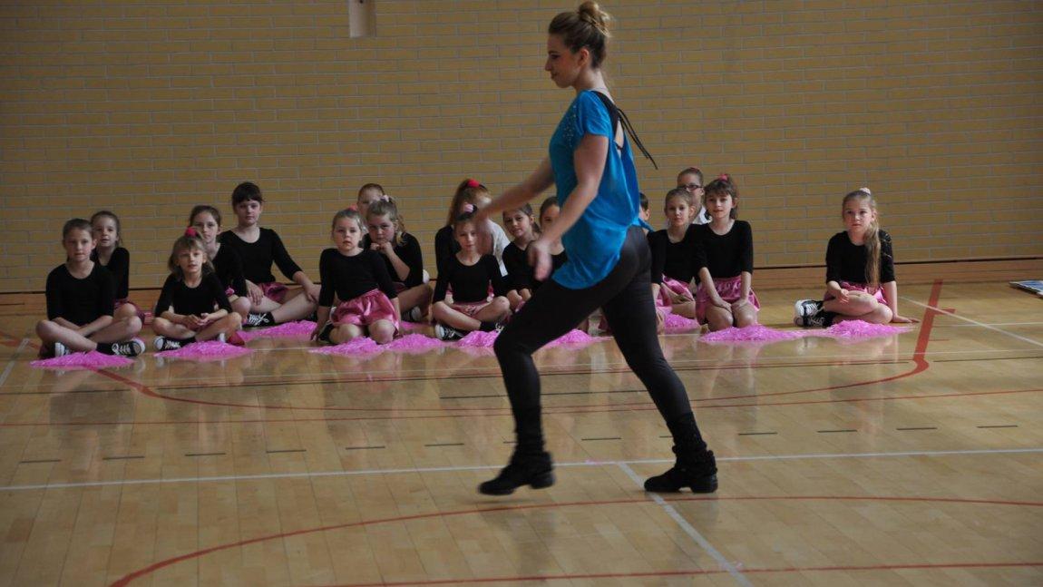 Aerobik i tańce w Skąpem