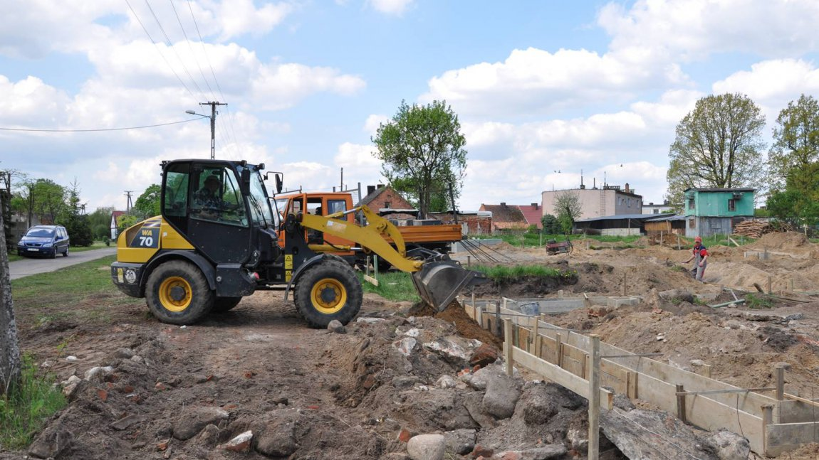 Ruszyła budowa we wsi Zawisze