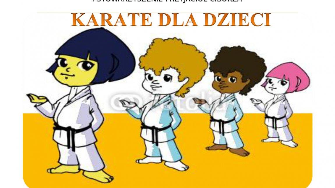 Zajęcia karate w Ciborzu