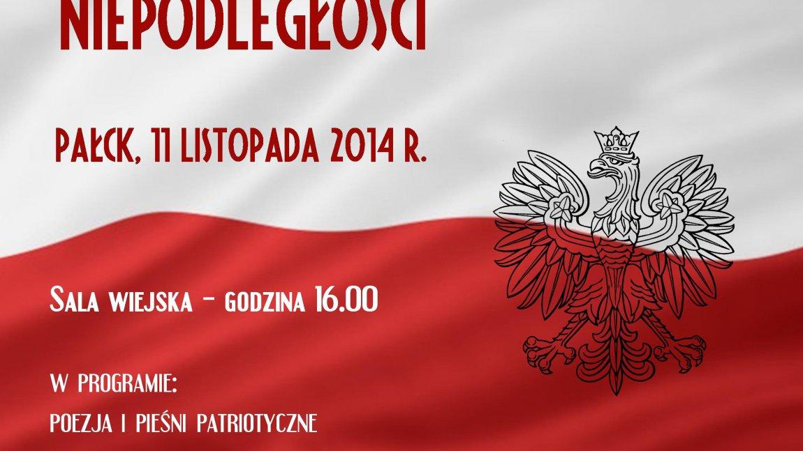 W Pałcku wspólnie zaśpiewamy pieśni patriotyczne