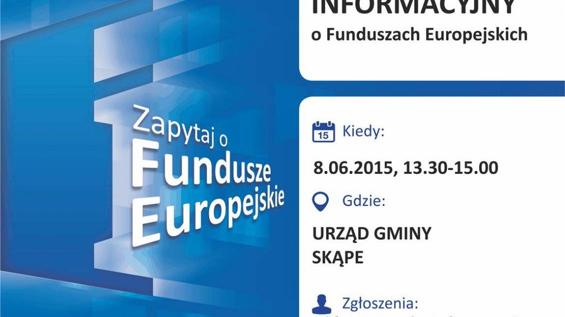 Zapytaj o fundusze europejskie. Gdzie? W Gminie Skąpe!