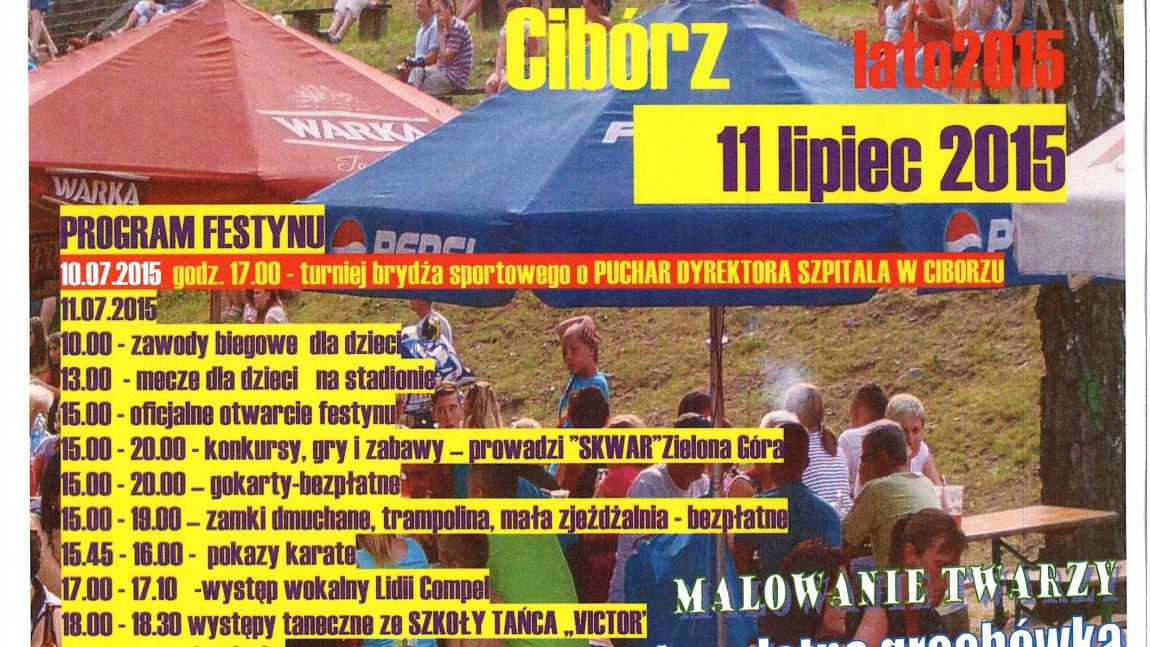 Festyn integracyjny w Ciborzu po raz siódmy