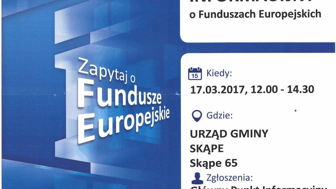 O funduszach europejskich w Skąpem