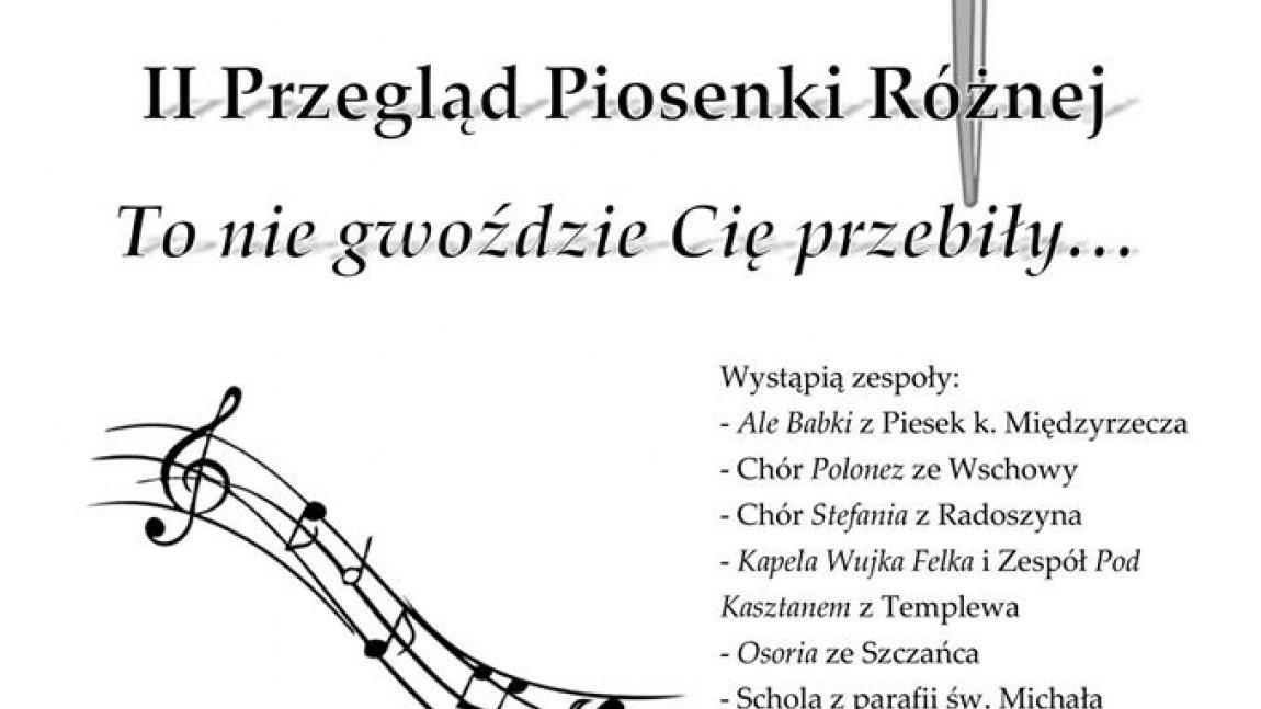 II Przegląd Piosenki Różnej w Ołoboku