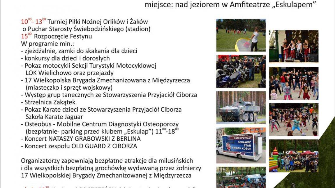 Festyn integracyjny w Ciborzu