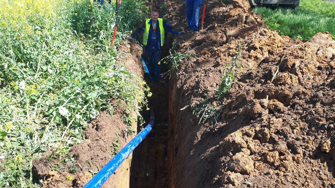 Powstaje wodociąg dla miejscowości Radoszyn