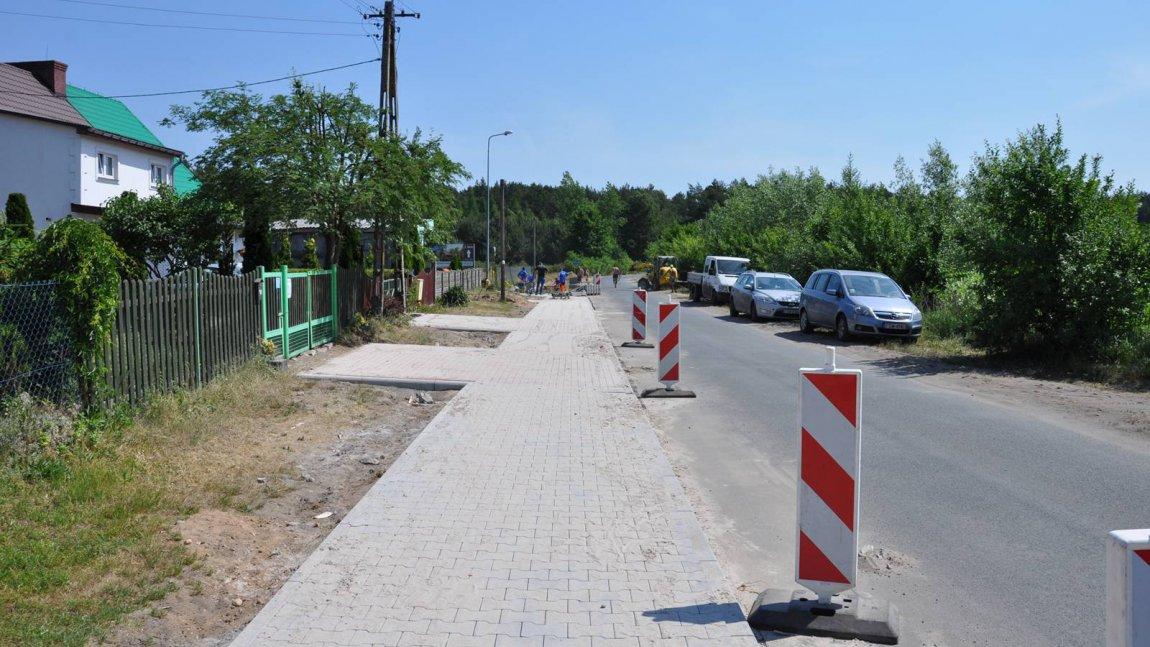 Trwa budowa dwóch ścieżek rowerowych
