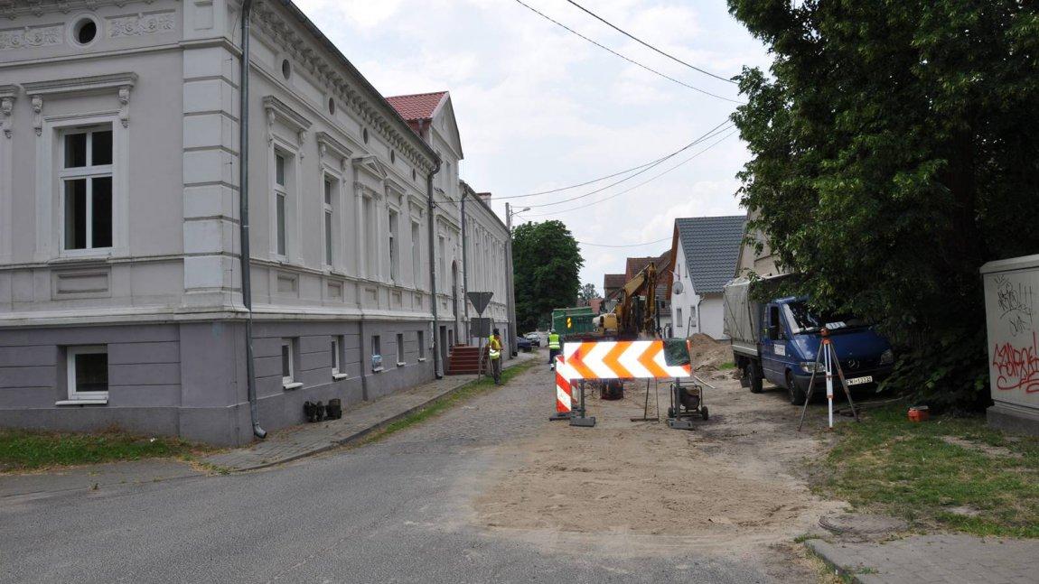 Budowa kanalizacji sanitarnej w Pałcku
