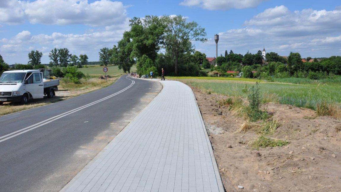 W Ołoboku powstaje odcinek rowerowej ścieżki turystycznej