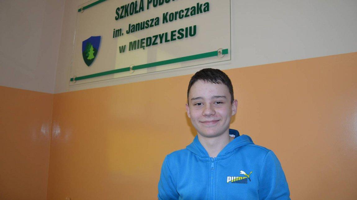 Uczeń szkoły w Międzylesiu laureatem konkursu przedmiotowego z matematyki