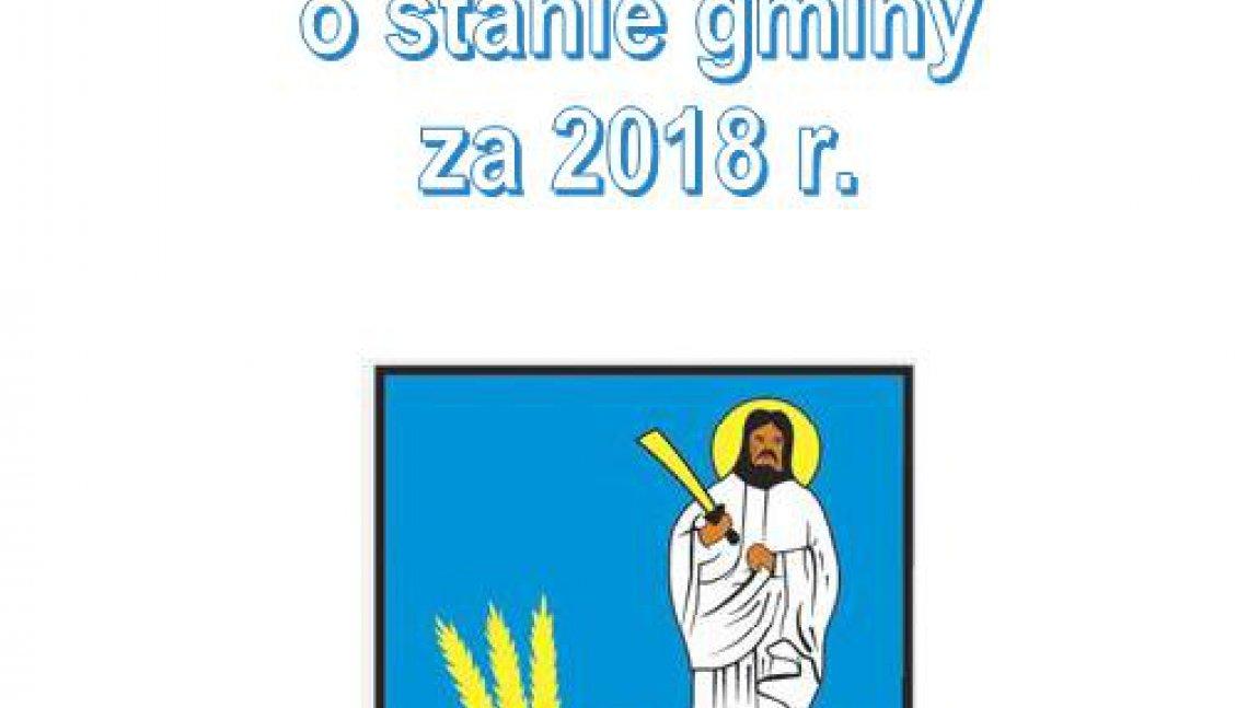 Raport o stanie Gminy Skąpe za 2018r.