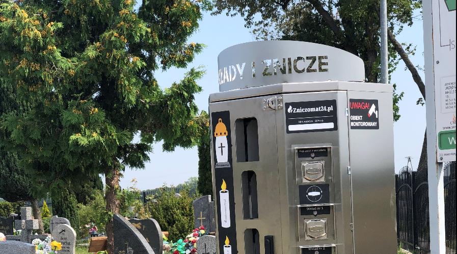 Automaty do Zniczy na Cmentarzach Gminnych