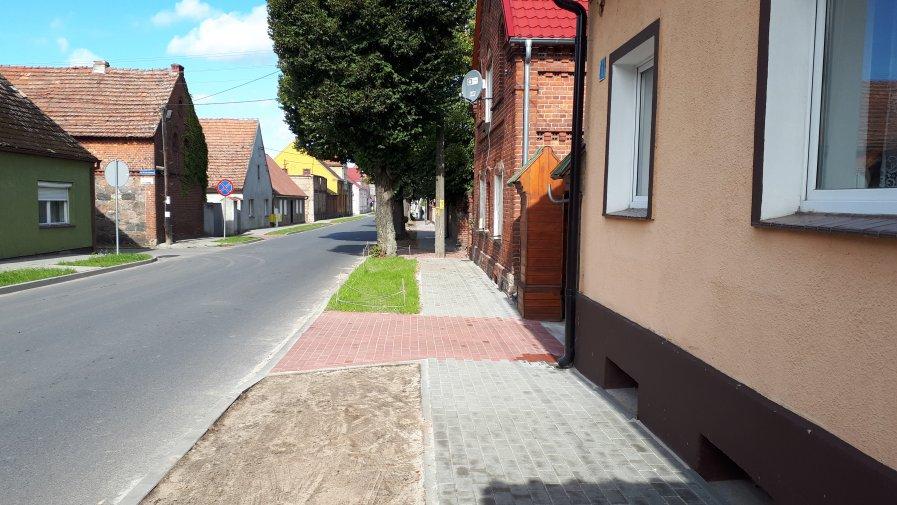 Przebudowa chodników w Ołoboku